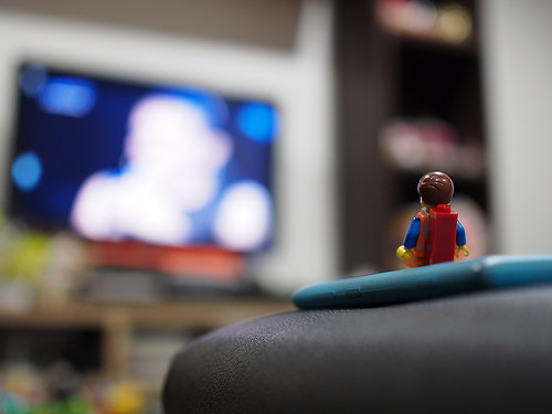 tv lego photo