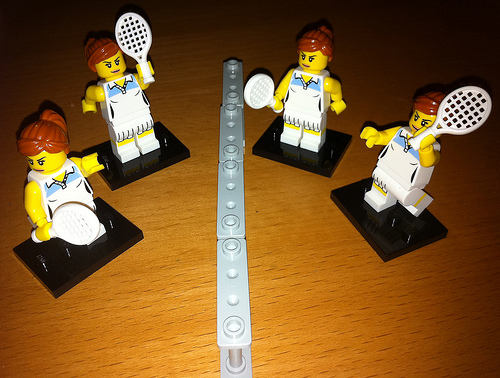 tennis lego photo