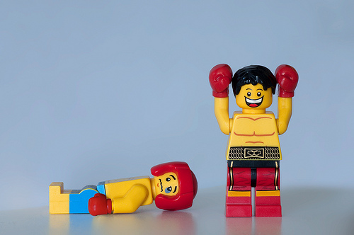 boxer lego photo