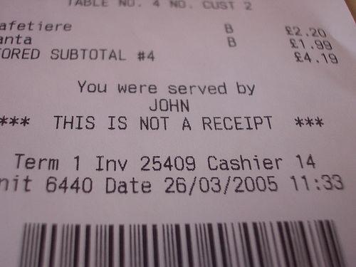 receipt photo