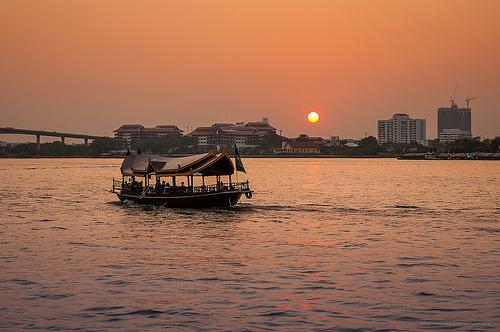 bangkok boat photo