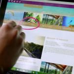 【快適】Surfaceで指やペンを使ってブラウザーを操作する方法
