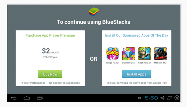 BlueStacks Price