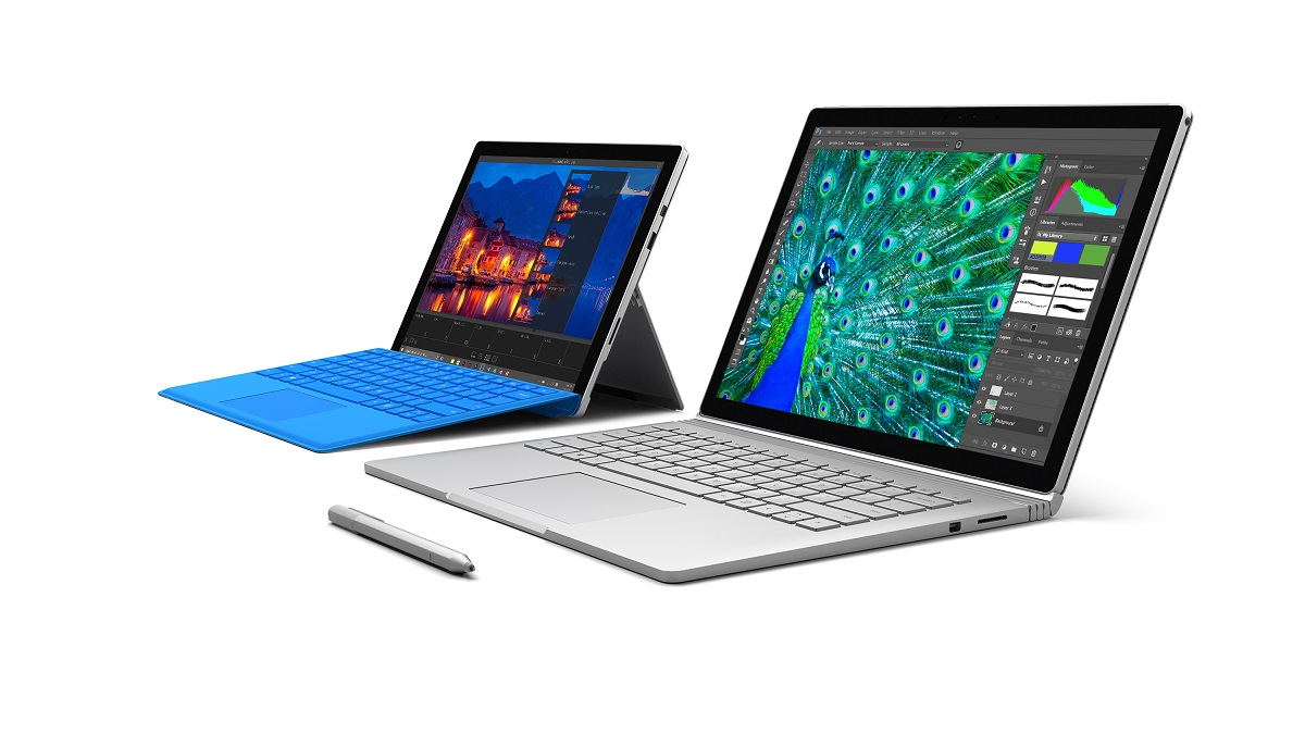 SurfaceBook and Surface Pro 4