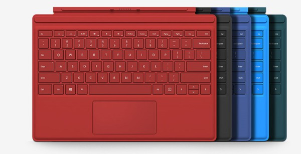 Surface Pro 4 type covers