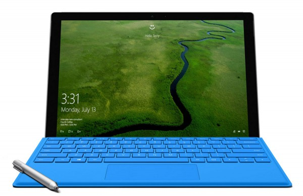 Windows Hello with Surface Pro 4