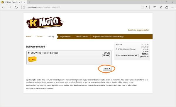 FC-Moto shipping
