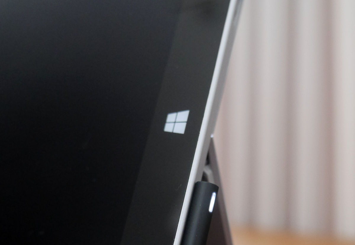 Surface's Windows button