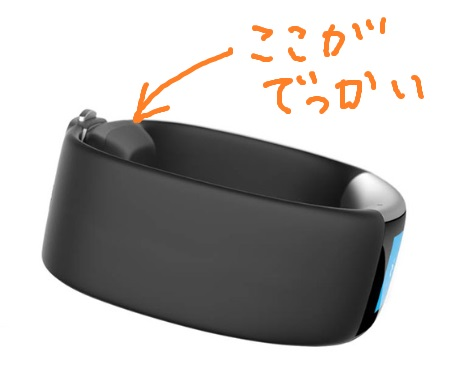Microsoft Band 2 seems very thick