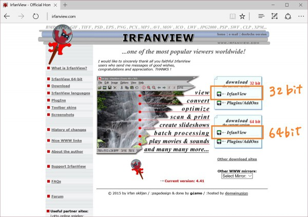 IrfanView 1