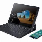 【Samsung】Galaxy TabPro Sの公式サイトが公開されています