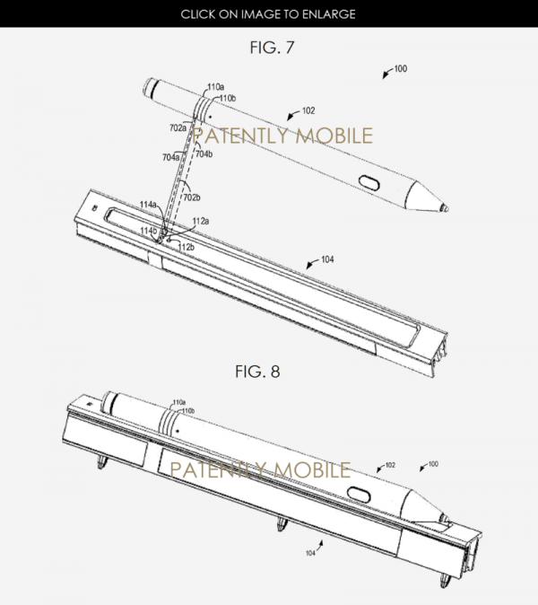 Microsoft's stylus patent