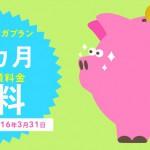 【キャンペーン】3月末に申し込む音声通話付きMVNOデビューはBIGLOBE SIMの3か月無料のやつに決めた話