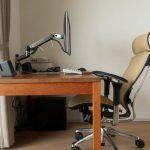 【エルゴトロン】モニター用のアームが快適すぎて仕事も遊びも捗る話と分厚い机への取り付け方