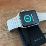 【適度】ケーブルの長さがちょうどいいApple Watch充電台 dodocool DA121