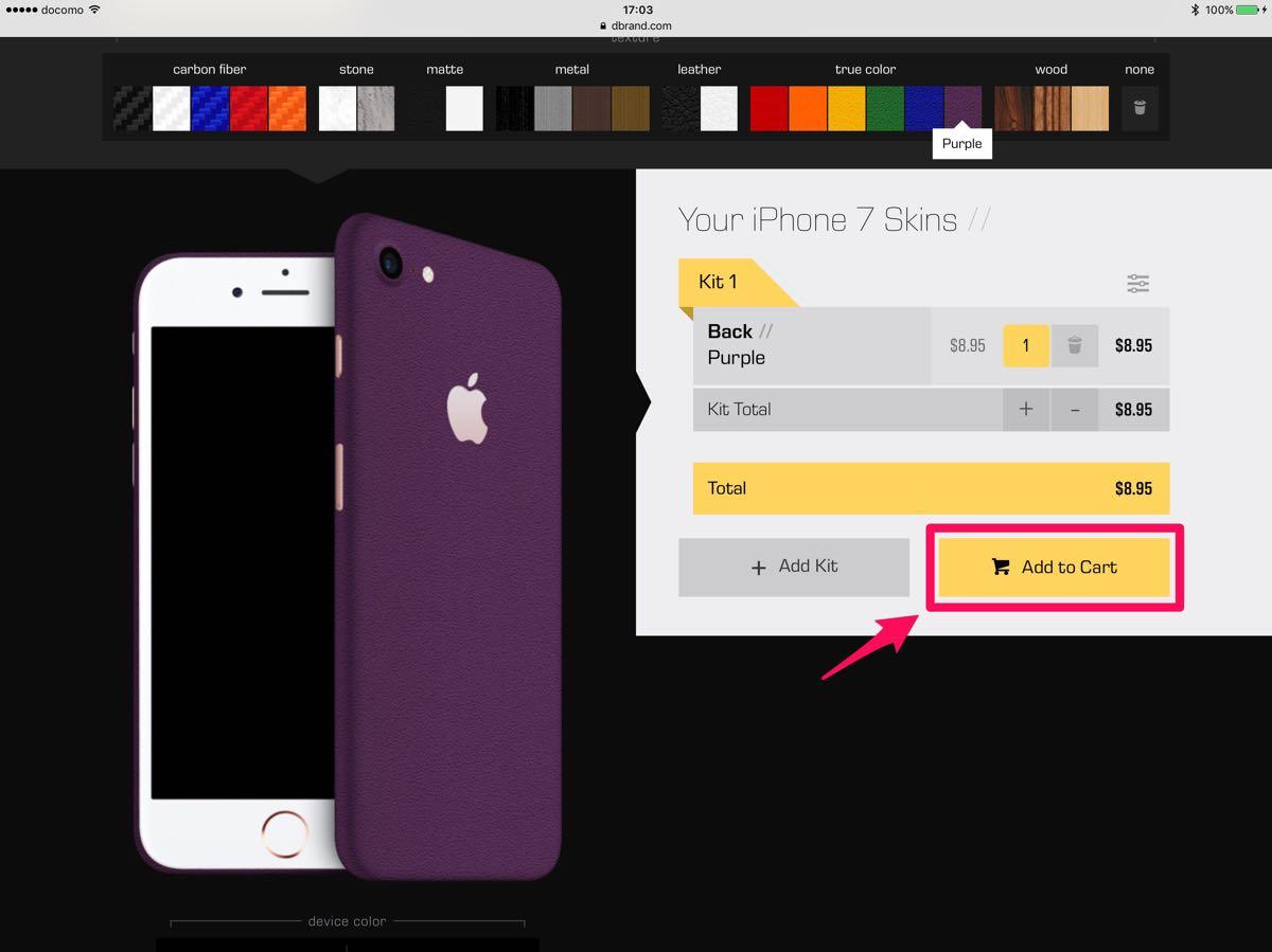 dbrand iPhone 7 skin - 6