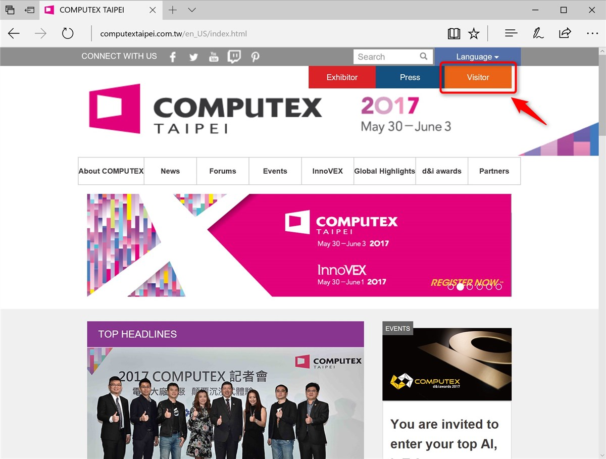 Computex Taipei entry - 1