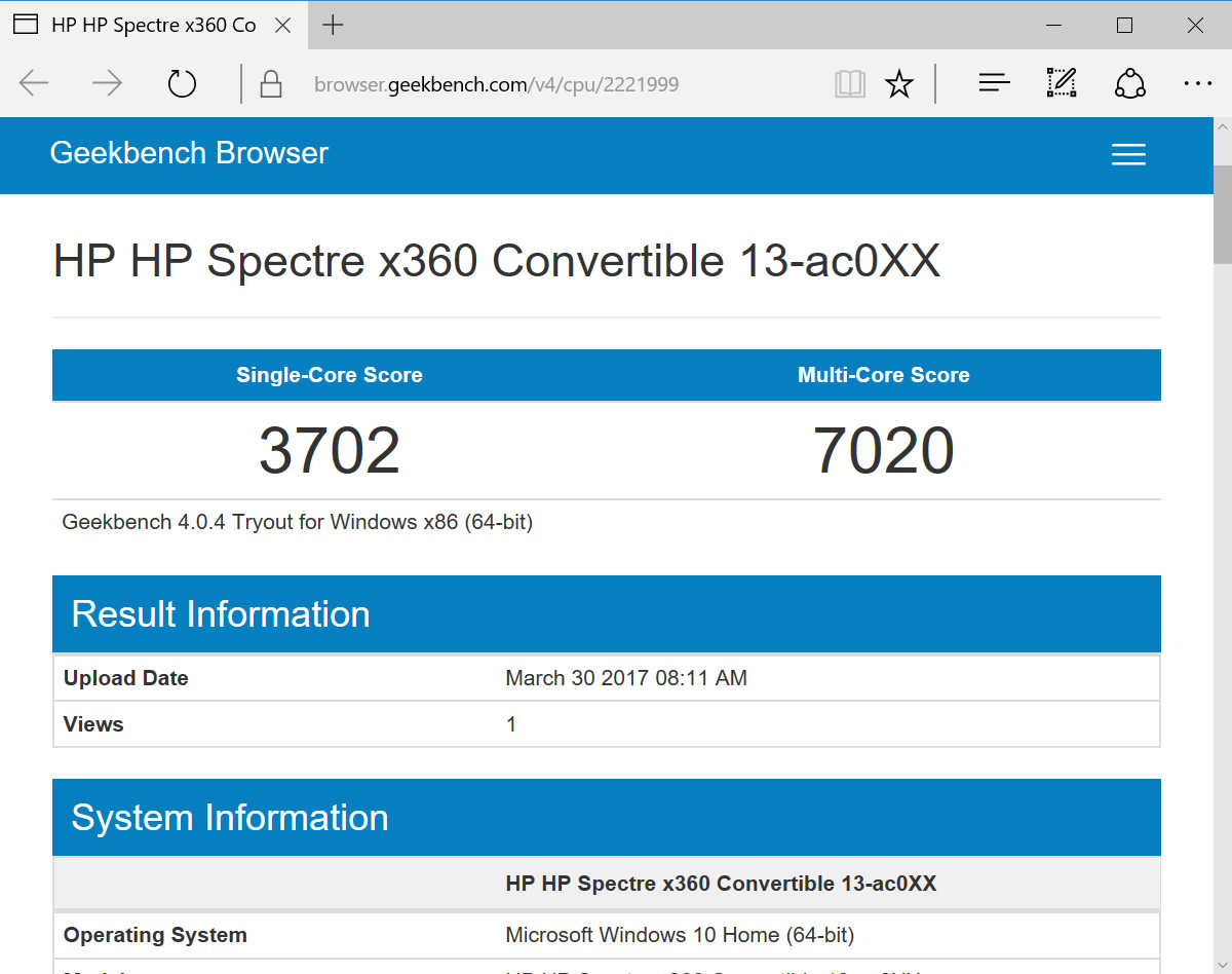 HP Spectre x360 13-ac000 - 17