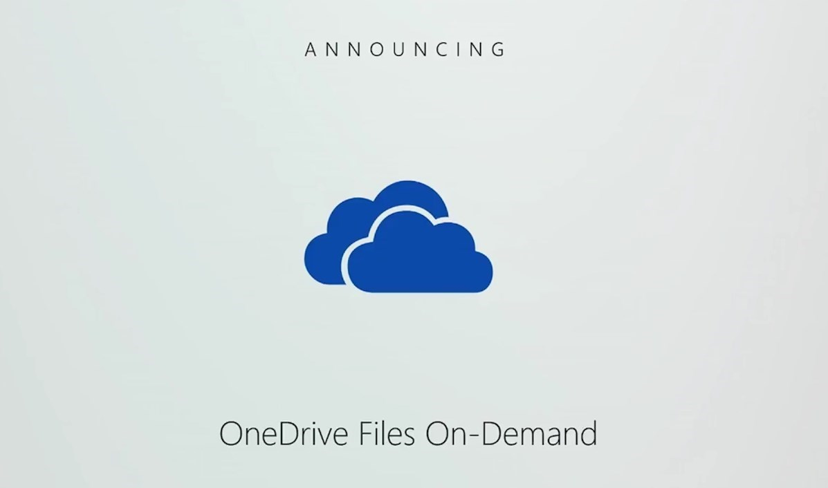 OneDriver Files On-Demand - 1