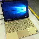 HUAWEI MateBook Xの実物を発見 〜 薄くて軽くてCore i7搭載