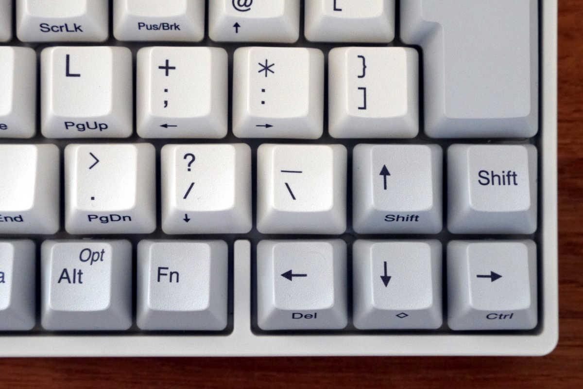 PFU Happy Hacking Keyboard Professional BT - 10