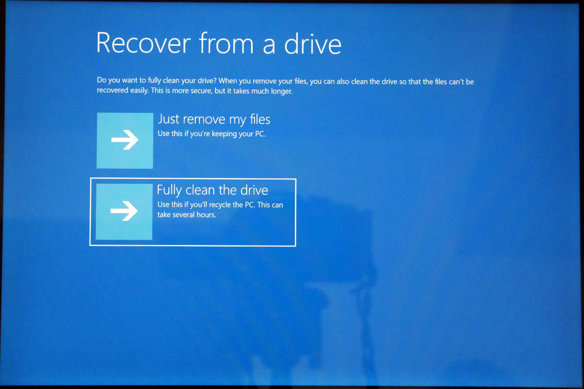 Windows 10 S recovery - 7-3