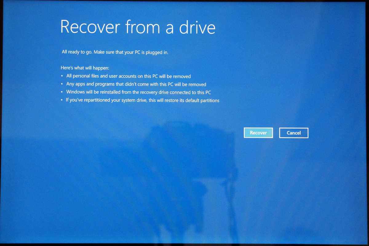 Windows 10 S recovery - 8