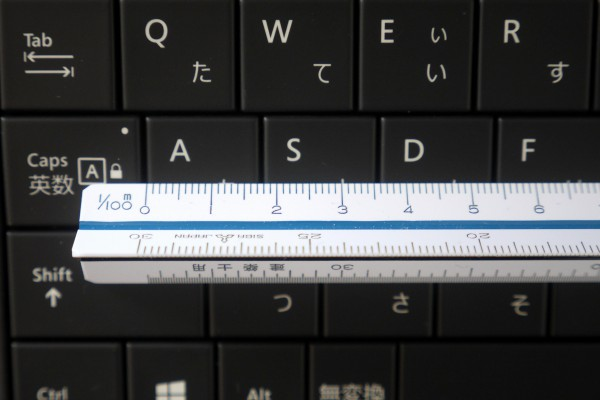 Surface 3 key pitch