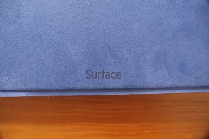 Surface Pro 3 type cover logo