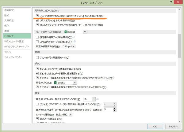 Excel 貼り付けオプション1