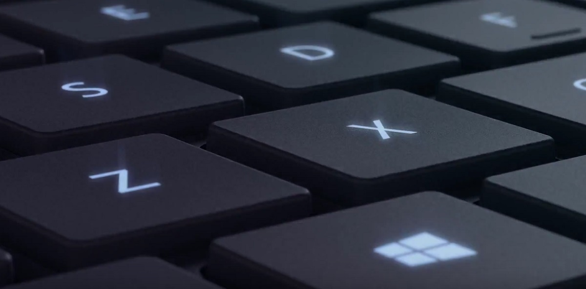 SurfaceBook keyboard back light