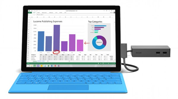 SurfaceConnect with Surface Dock