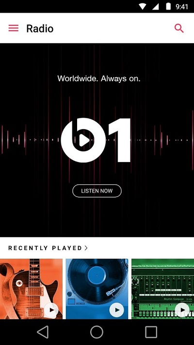Apple Music for Android - Radio