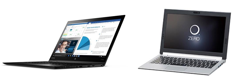 Lenovo ThinkPad and NEC LAVIE