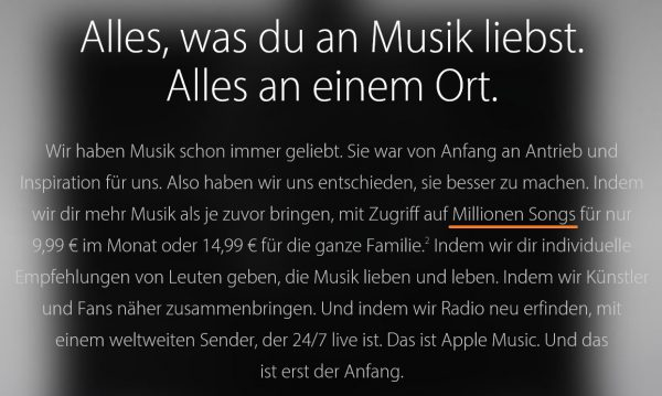 Apple Music DE