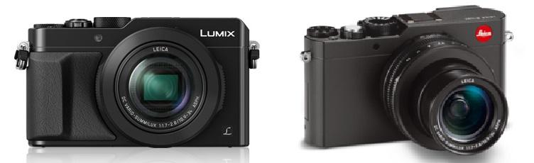 Lumix LX100 v D-LUX Typ 109