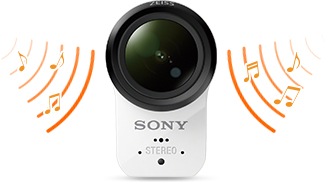 Sony HDR-AS300 microphone