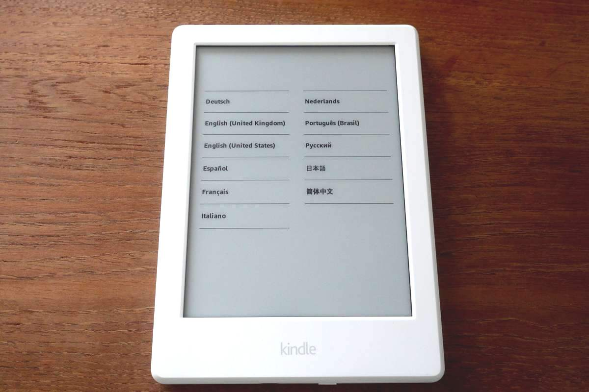 Kindle 8th 4