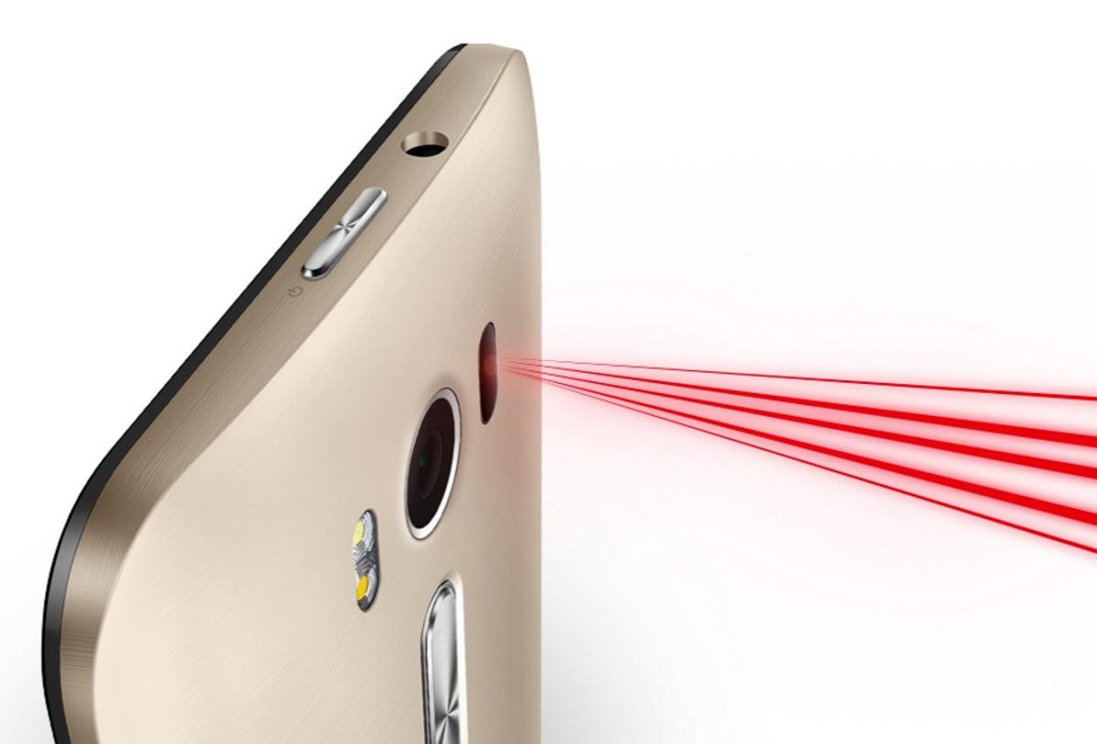 ASUS ZenFone 2 Laser - laser auto focus