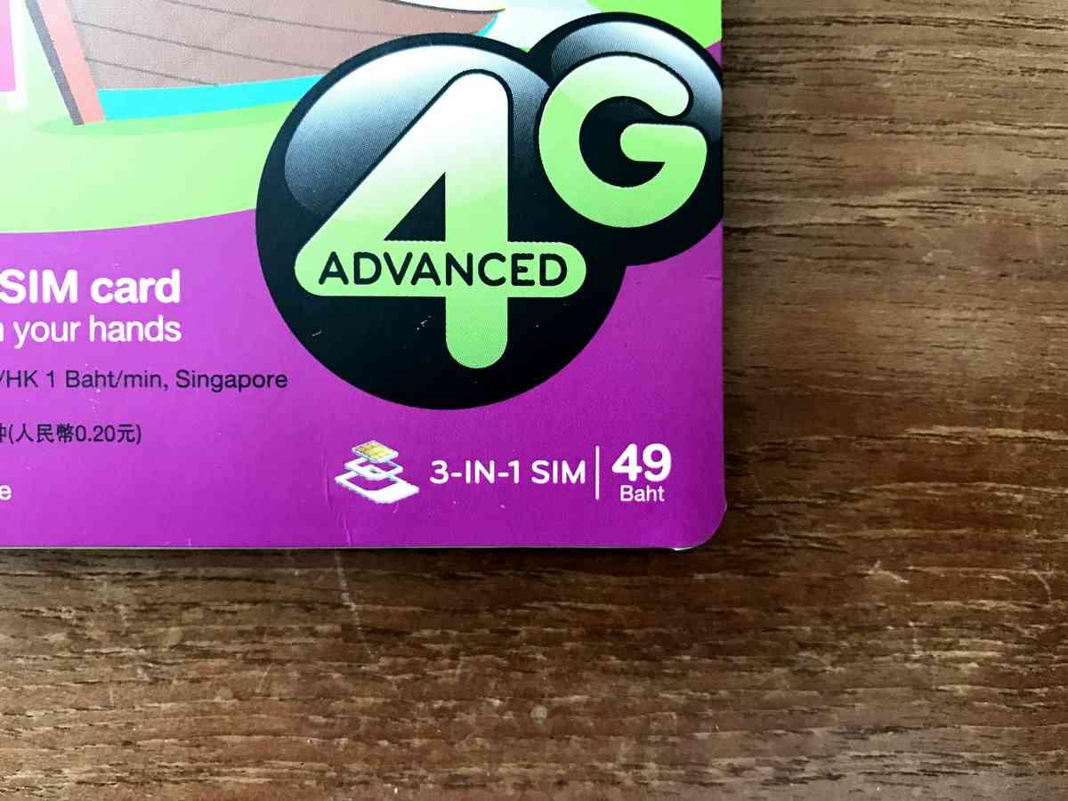 AIS SIM Package