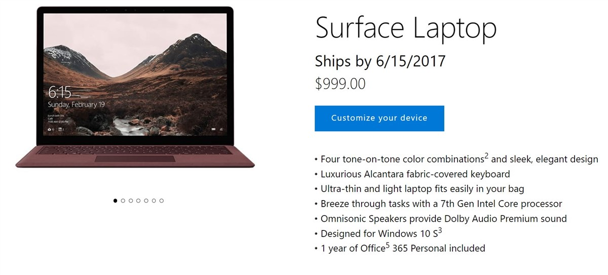 Surface Laptop - 10