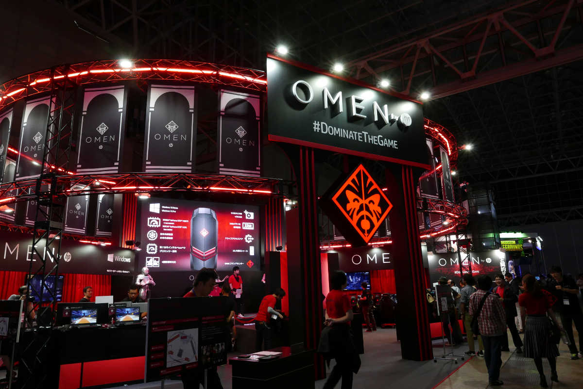 OMEN by HP in TGS2017 - 1