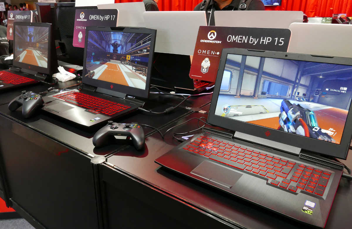 OMEN by HP in TGS2017 - 2