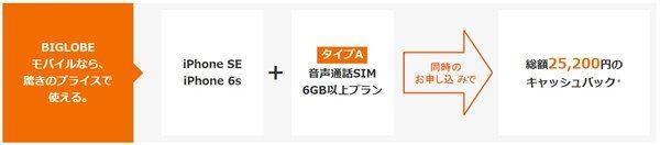 BIGLOBEモバイルのiPhone - 3