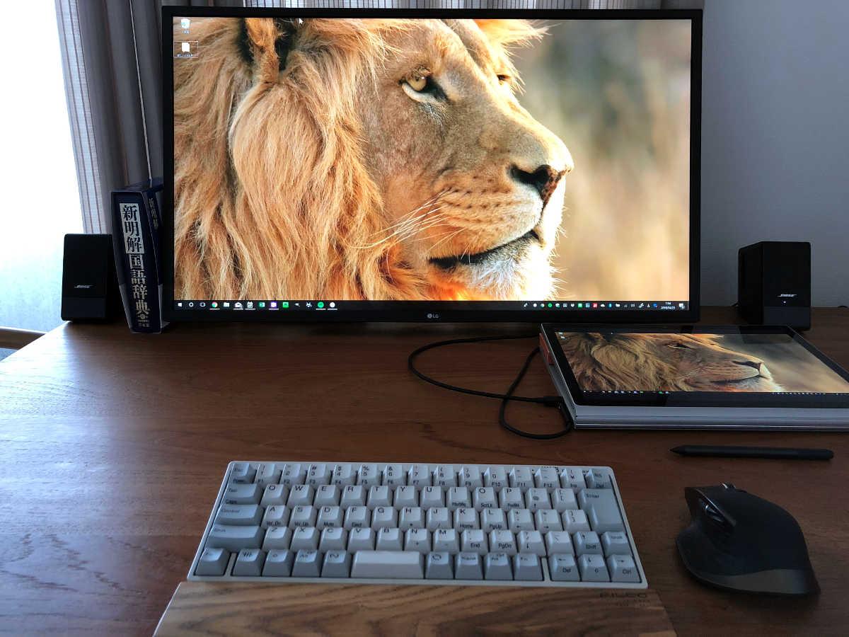 Surface Book 2と外部ディスプレイ - 1