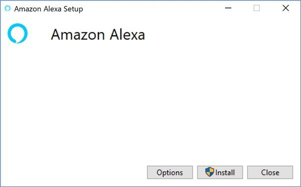 Amazon Alexa app on Windows - 1