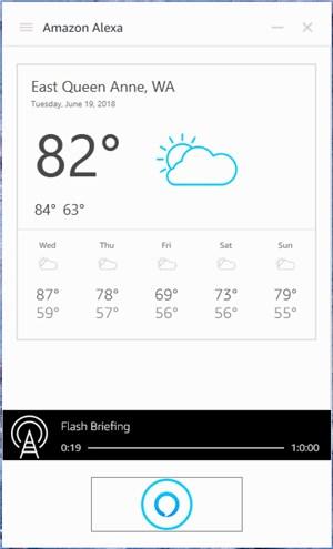 Amazon Alexa app on Windows - 11