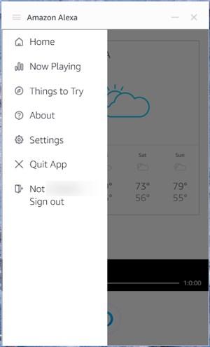 Amazon Alexa app on Windows - 12