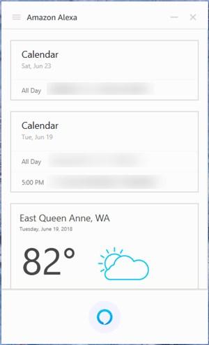 Amazon Alexa app on Windows - 17