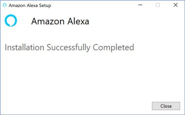 Amazon Alexa app on Windows - 2